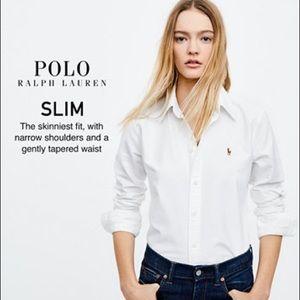 RALPH LAUREN: Slim Fit Button Down Shirt!